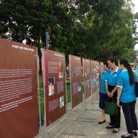 """Triển lãm """"Vì một cuộc sống an toàn"""" tại tỉnh Điện Biên"""
