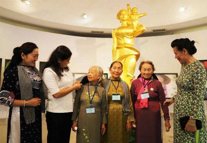 The Long-Haired Army reminisced about their patriotic past at the Vietnamese Women's Museum