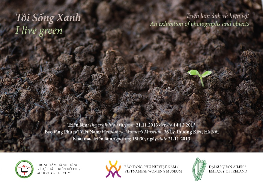 "Press release: Exhibition ""I live green"""