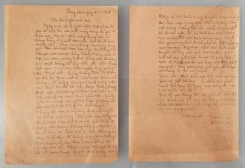 Kỷ niệm ngày Thương binh liệt sĩ: Lá thư gửi mẹ