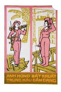 Affiches de propagande 1954-1975