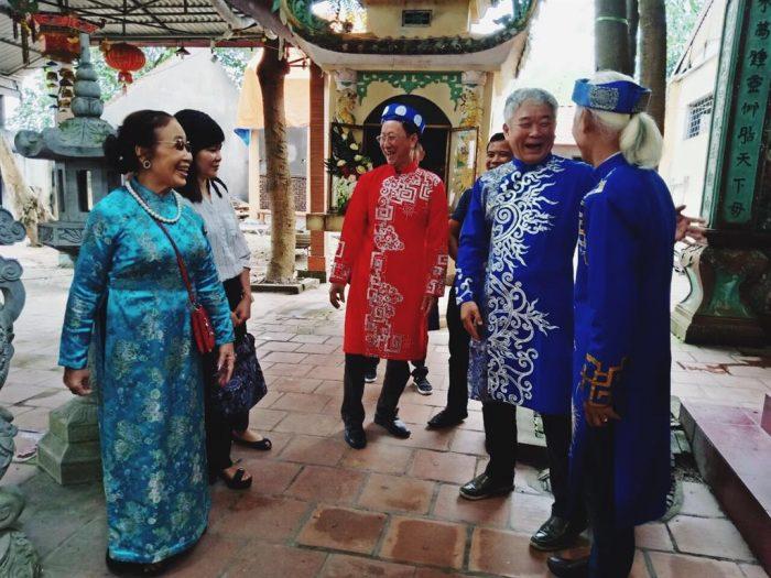 La rencontre des amis Vietnamiens – Coréens