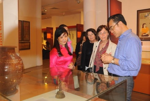 """I learn a precious lesson after the tour around Vietnamese Women's Museum"""