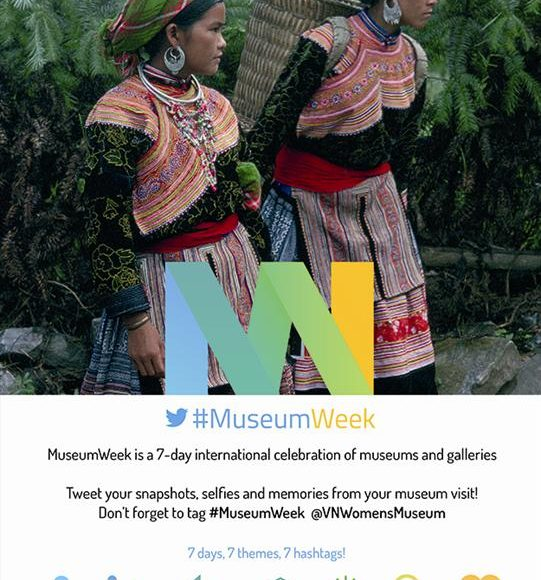 "Updates on the ""Museum Week 2016"" on Twitter"