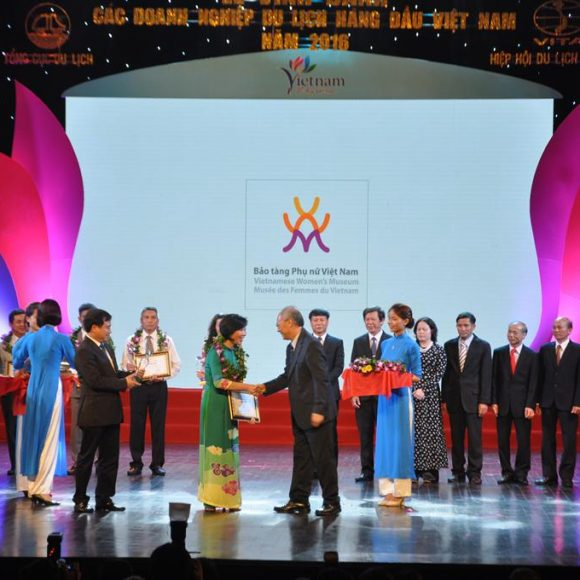 Vietnamese Women's Museum receives Top Vietnam Attraction Award 2016