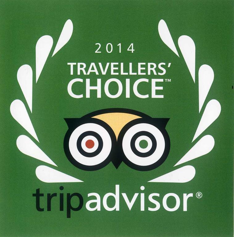 Giải thưởng du lịch hấp dẫn 2014 của TripAdvisor