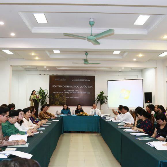 Hội thảo khoa học quốc gia – hành động thiết thực  để áo dài Việt Nam trở thành Di sản văn hóa phi vật thể Quốc gia