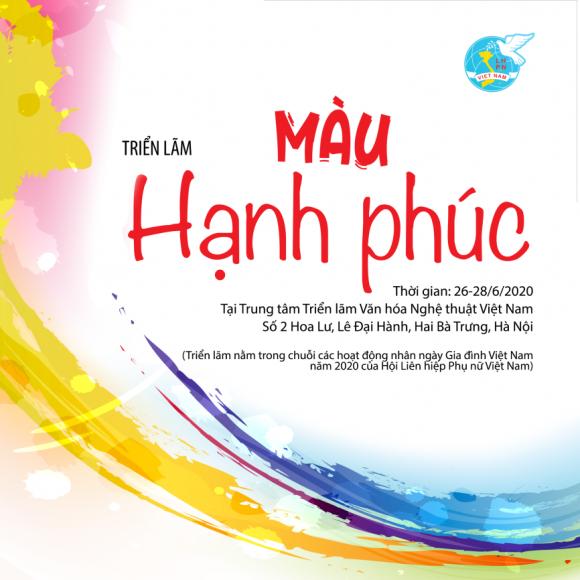 """Triển lãm """"Màu hạnh phúc"""" chào mừng ngày Gia đình Việt Nam"""