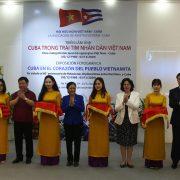 """Khai mạc triển lãm """"Cuba trong trái tim nhân dân Việt Nam""""  tại Bảo tàng Phụ nữ Việt Nam"""
