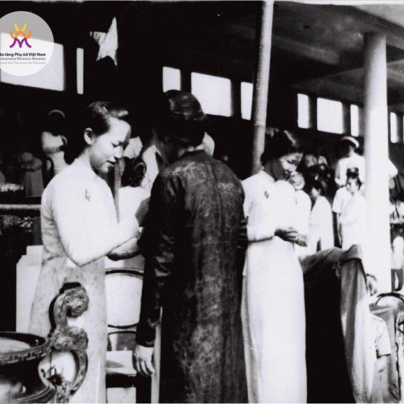 Phụ nữ Việt Nam luôn sát cánh cùng sự nghiệp chung của đất nước